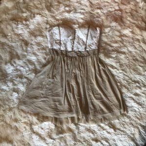 Charlotte Russe Strapless Dress!